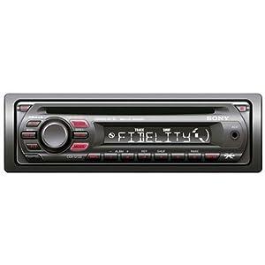Sony CDX-GT 23 MP3-CD-Tuner (Front AUX-In) schwarz