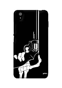 Gobzu Printed Hard Case Back Cover for OnePlus X / One Plus X - Design_20