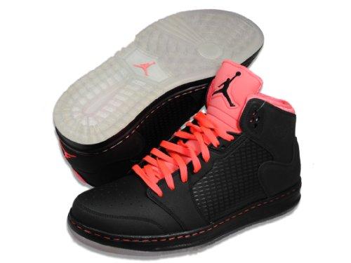 """Nike Air Jordan Prime 5 """"Neon Pack"""" Mens Basketball Shoes [429489-018] Black/Infared Mens Shoes 429489-018-11"""