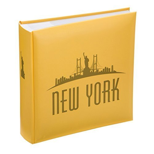 Yellow New York City Skyline Design Memo Album- Kenro