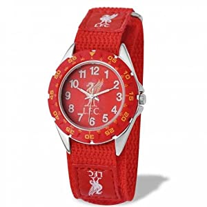 Official Liverpool FC Youths Watch - A Great Gift / Present For Boys, Sons, Friends, For Christmas, Birthdays, Valentines Day Or Just As A Treat For Any Avid Football Fan by ONTRAD Limited