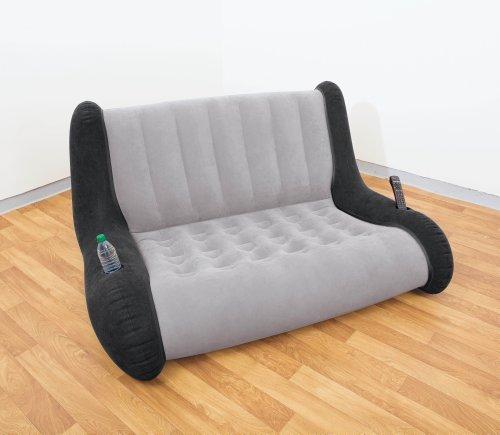 Get intex lounge sofa aufblasbar sitzlounge fr zelt ideal for Sofa aufblasbar