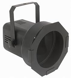 Eliminator Lighting Strobes and Par cans Par 38 Black with lamp Stage Light