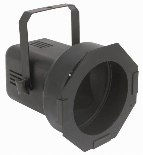 Eliminator Lighting Strobes and Par cans Par 38 Black with lamp Stage Light