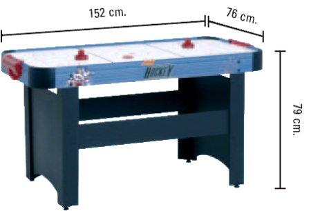 Air Hockey Mistral (c.gioco cm. 140 x 70)