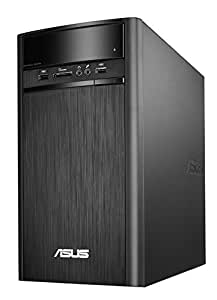 ASUS デスクトップ K31AN  [Windows10無料アップデート対応](WIN8.1 64Bit / Intel J2900 / 4GB / 500GB / DVD-ROM ドライブ / ブラック) K31AN-J2900