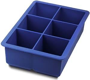 Tovolo King Cube Ice Tray, Stratus Blue
