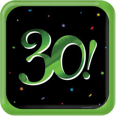 30 Milestones Dinner Plates - 1