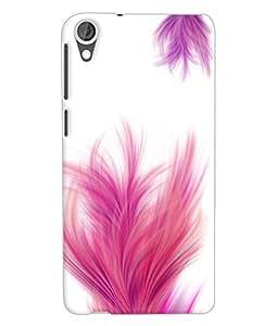 Fuson 3D Printed Pattern Designer Back Case Cover for HTC Desire 820 - D1105