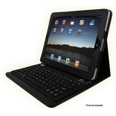 Compagno Multiview Ipad Case with Built-in Bt Keyb Rechargeable Batt