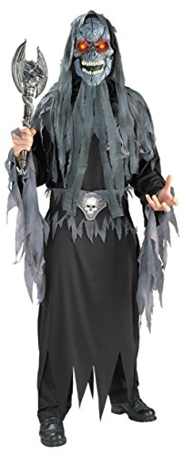 Rubies Mens Evil Eye Skull Reaper Skeleton Scary Theme Party Costume
