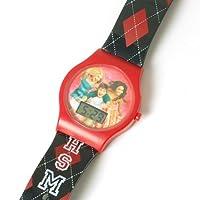 High School Musical Girls Digital Argyle Strap Watch 13050