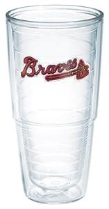 MLB Tervis Tumbler Atlanta Braves 24oz. Team Wordmark Tumbler Cup by Tervis
