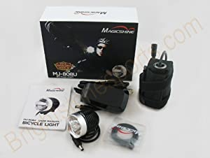 Magicshine Mj-808 3-mode 900 Lumen Led Bike Light 2011 Version With Improved Battery And Charger