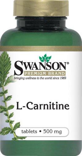 L-CARNITINE 100 TABLETS 500 mg