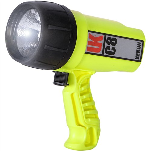 Underwater Kinetics C8 Xenon Flashlight (Safety Yellow)