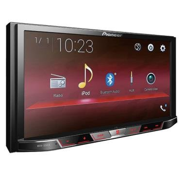 PIONEER MVH-300EX Double Din Digital Multimedia Video Receiver with 7 WVGA Touchscreen Display Built-in Bluetooth (Tamaño: 11.00in. x 9.70in. x 6.40in.)