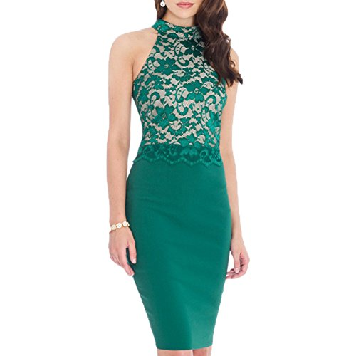 WOOSEA-Womens-Elegant-Sleeveless-Floral-Lace-Vintage-Midi-Cocktail-Party-Dress
