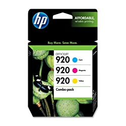 HP 920 CN066FN#140 Ink Cartridge Combo Pack