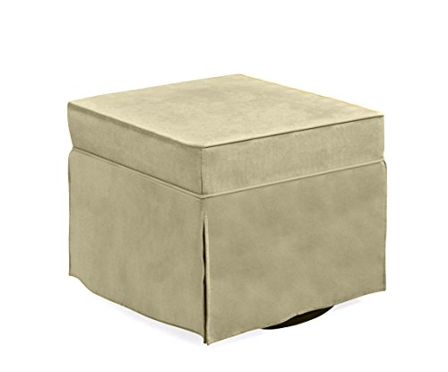 Shermag Upholstered Ottoman, Lichen