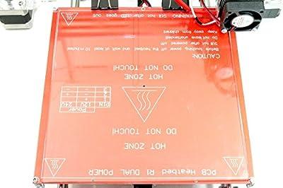 [REPRAPGURU] 213*200*3 Borosilicate glass for heatbed MK2/MK2A for 3D printer, Reprap Prusa i3, Mendel