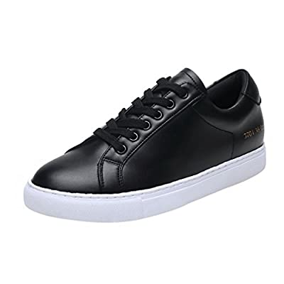 T&Mates Womens Comfortable Casual Lace-up Low Top Anti-Slip Seasons Flat Fashion Sneakers