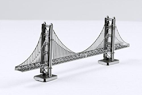 Metal Earth 3D Metal Model - San Francisco Golden Gate Bridge