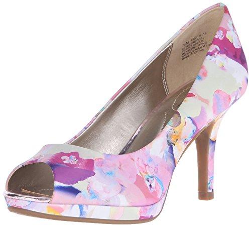 Bandolino Women's Supermodel Platform Pump, Pink Floral Multi, 6.5