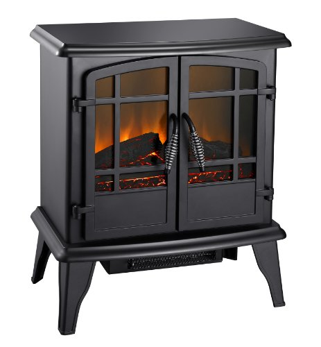 Pleasant Hearth 20-Inch Electric Stove Matte, Black picture B008Q26I64.jpg