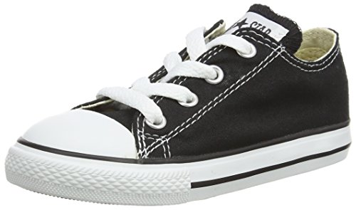 Converse Unisex Child Tod/Yth Chuck Taylor All Star Ox - Black - 12 TOD