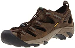 KEEN Men\'s Arroyo II Hiking Sandal,Slate Black/Bronze Green,8.5 M US