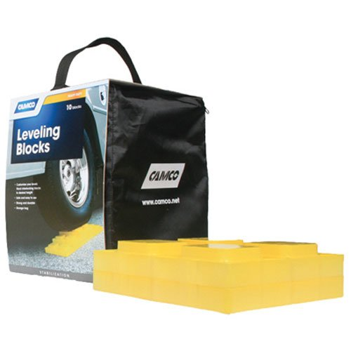 Camco 44505 Leveling Blocks - 10 pack (Camper Wheel Chocks compare prices)