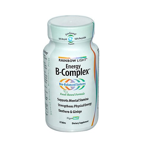 Rainbow Light Energy B-Complex 45 Tabs