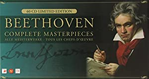 Beethoven: Complete Masterpieces (Germany) (60 CD Limited Edition Box Set)