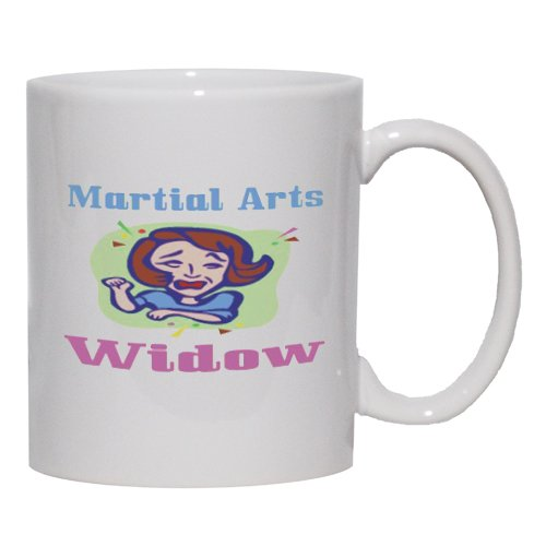 Martial Arts Widow Mug for Coffee / Hot Beverage (choice of sizes and colors)