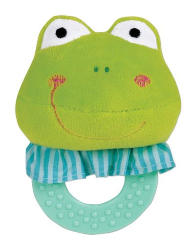 Small World Toys All About Baby Infant - Teething Buddies--Frog - 1