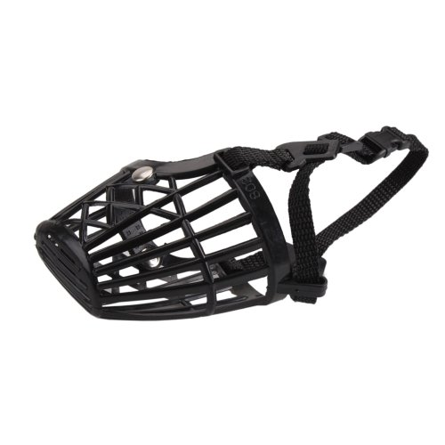 Plastic Basket Muzzle For Dogs front-1055079