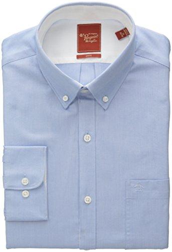 美亚直邮 Original Penguin Slim-Fit Solid Dress Shirt 男士修身衬衫