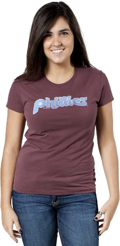 Forty Seven Brand womens Philadelphia Phillies Shirt-Maroon-Medium at Amazon.com