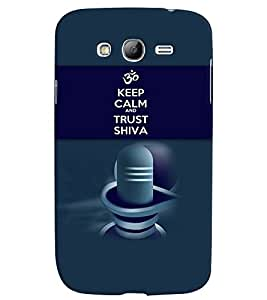 PRINTVISA Religious Shiva Quotes Case Cover for Samsung Galaxy Grand 2