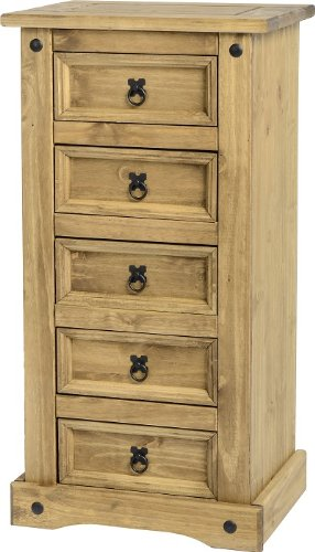 mercers-furniture-corona-commode-5-tiroirs-etroite-armoire-en-pin-massif-tiroirs-en-pin-mexicain