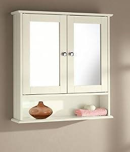 double door bathroom mirror cabinets white cream oak cream amazon