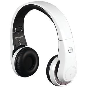 Manhattan Flyte Wireless Headset, On-Ear, Bluetooth 3.0 weiß