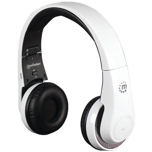Manhattan 178136 Flyte Wireless Headset White