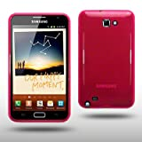 SAMSUNG GALAXY NOTE TPU GEL CASE BY CELLAPOD CASES HOT PINKby CELLAPOD