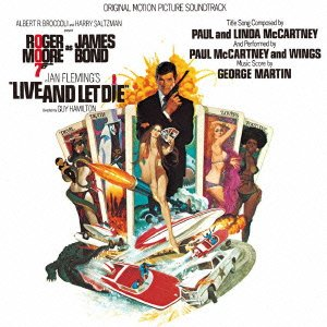 Original album cover of Live & Let Die by James Bond - OST