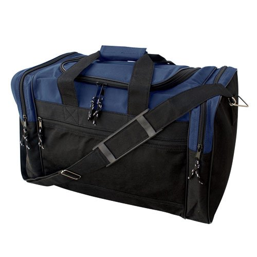 "17"" Soft Lightweight Duffel Bag Made of Recycled Material"