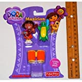 Dora The Explorer *** Musician *** 3 Piece Play Set