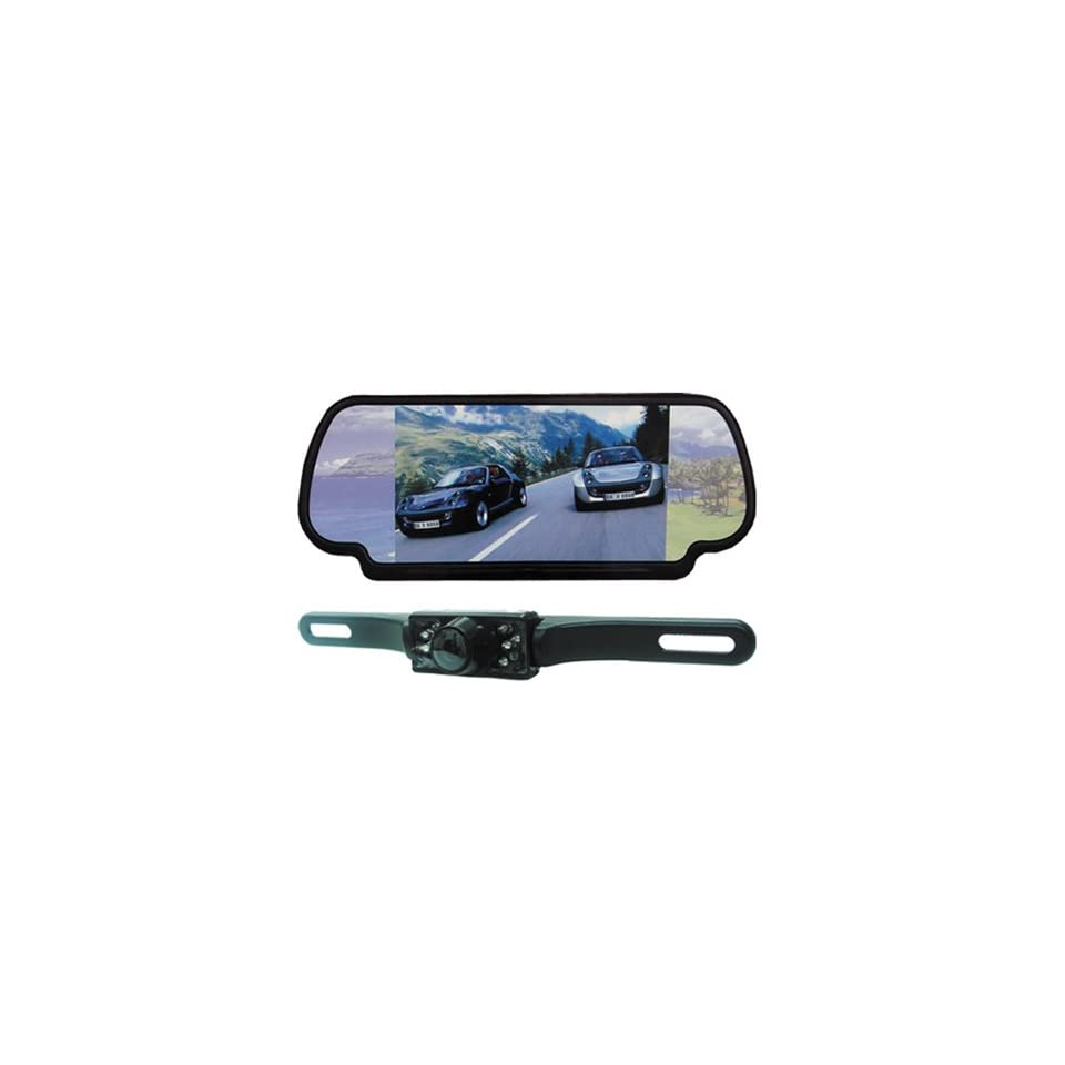 Absolute CAMPACK 700 7.0 Inches TFT/LCD Rear View Mirror Monitor with Rear View Night Vision Camera