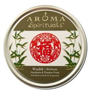Aroma Naturals Spiritual Large Candle Tin Wealth Wealth ct